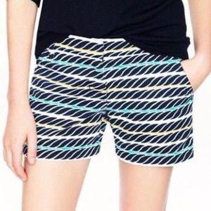 J. Crew Printed Rope Shorts